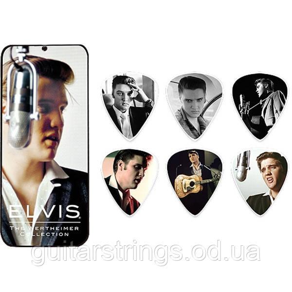 Набор Медиаторов Dunlop EPPTR03 Elvis Presley Signature Wertheimer Collection Med. 6pcs