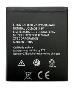 Аккумулятор АКБ ZTE Li3822T43P4h746241 для ZTE Blade L4 Pro   Blade A465   Amazing X3s (Li-ion 3.8V 2200mAh)