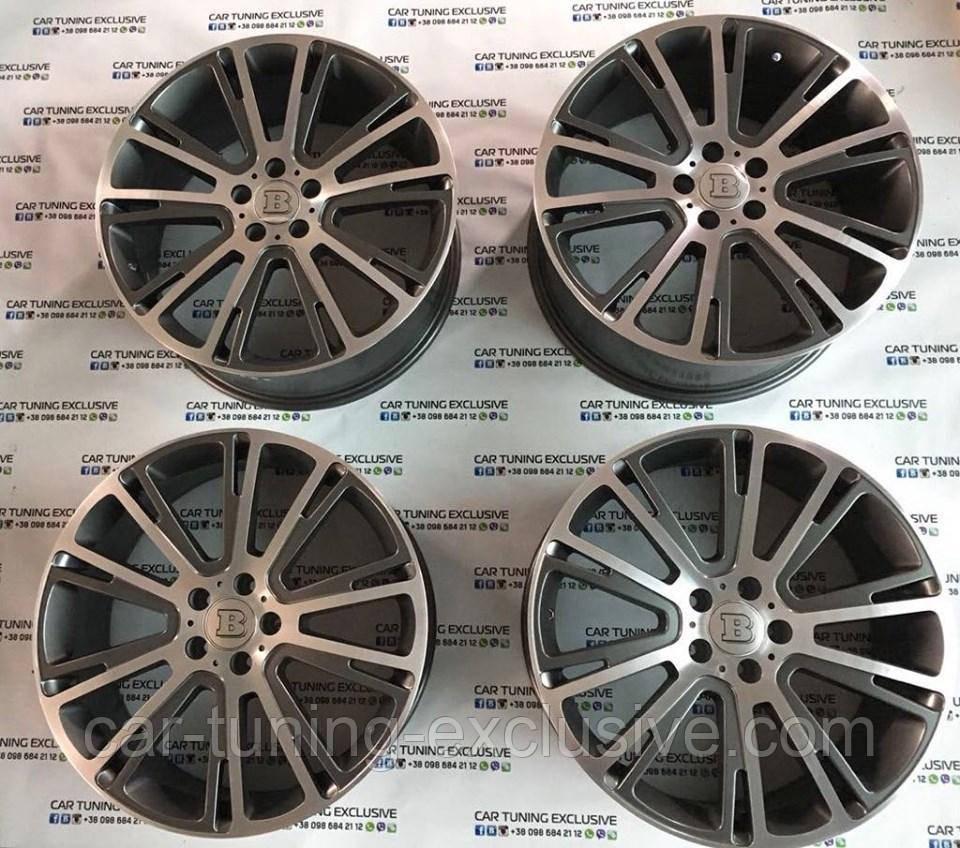 """BRABUS Monoblock R """"LIQUID TITANIUM"""" for Mercedes GLC-class X253"""