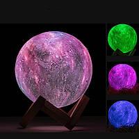 Настольный светильник ночник Magic 3d star light Разные цвета + пульт