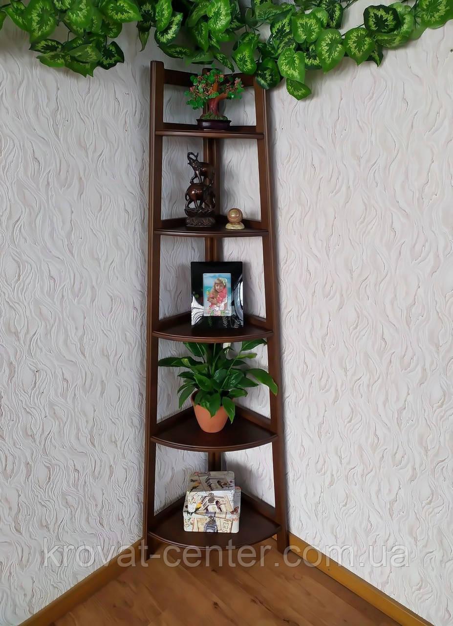 """Детский стеллаж этажерка на 5 полок из дерева """"Робин - 2"""" от производителя (цвет на выбор)"""