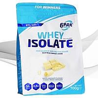 Протеин изолят 6PAK Nutrition Whey Isolate 700 грамм
