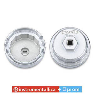 Съёмник м/фильтра чашка 64,5/14мм 4- 6- and 8-Cylinder Toyota Engines JDDH6501 Toptul