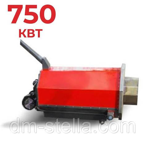 Пеллетный предтопок 750 кВт (пеллетная горелка высокой мощности) DM-STELLA, фото 2