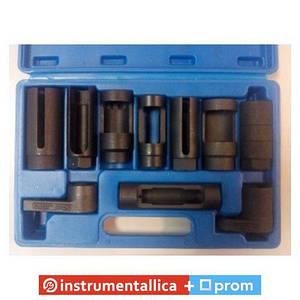 Набор головок для кислородных датчиков (лямбда-зонда) 10 предметов 1-E1018 Ampro