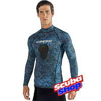 Рашгард Cressi Hunter Rash Guard BLUE для подводной охоты