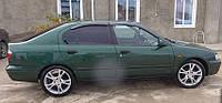На передние двери.Дефлекторы окон, ветровики \ Nissan Primera P11 4d/5d 1996-2002 \ Ниссан Примера