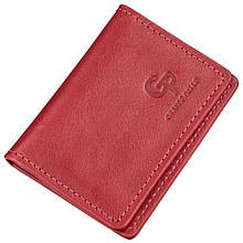 Обкладинка для водійських прав шкіряна GRANDE PELLE 11188 Червона, Червоний