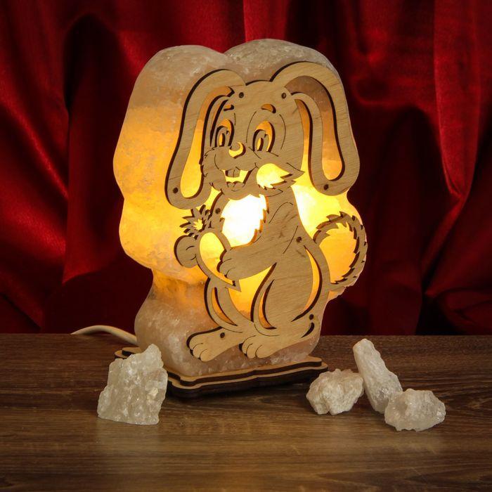 Соляная лампа Заяц Большой