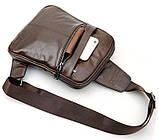 Рюкзак Vintage 14395 кожаный Коричневый, фото 3