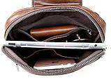 Рюкзак Vintage 14395 кожаный Коричневый, фото 7