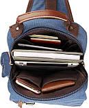 Рюкзак Vintage 14482 Синий, фото 8