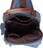 Рюкзак Vintage 14482 Синий, фото 9