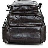 Рюкзак шкіряний Vintage 14149 Чорний, фото 3