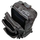 Рюкзак шкіряний Vintage 14149 Чорний, фото 7