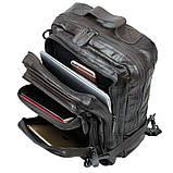 Рюкзак шкіряний Vintage 14149 Чорний, фото 8