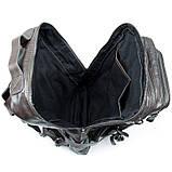Рюкзак шкіряний Vintage 14149 Чорний, фото 9