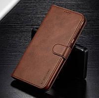Кожаный чехол книжка LC.IMEEKE для Samsung Galaxy A71 2020 A715 с визитницей (Разные цвета)