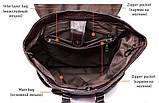 Рюкзак Vintage 14714 кожаный Сливовый, фото 7