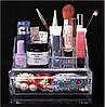 Акриловый органайзер для косметики и украшений с ящичком Cosmetic organizer, фото 2