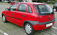 Дефлекторы окон, ветровики \ Opel Corsa 4d/5d 2000-2005 \ Опель Корса седан и хэтчбэк \  RACING