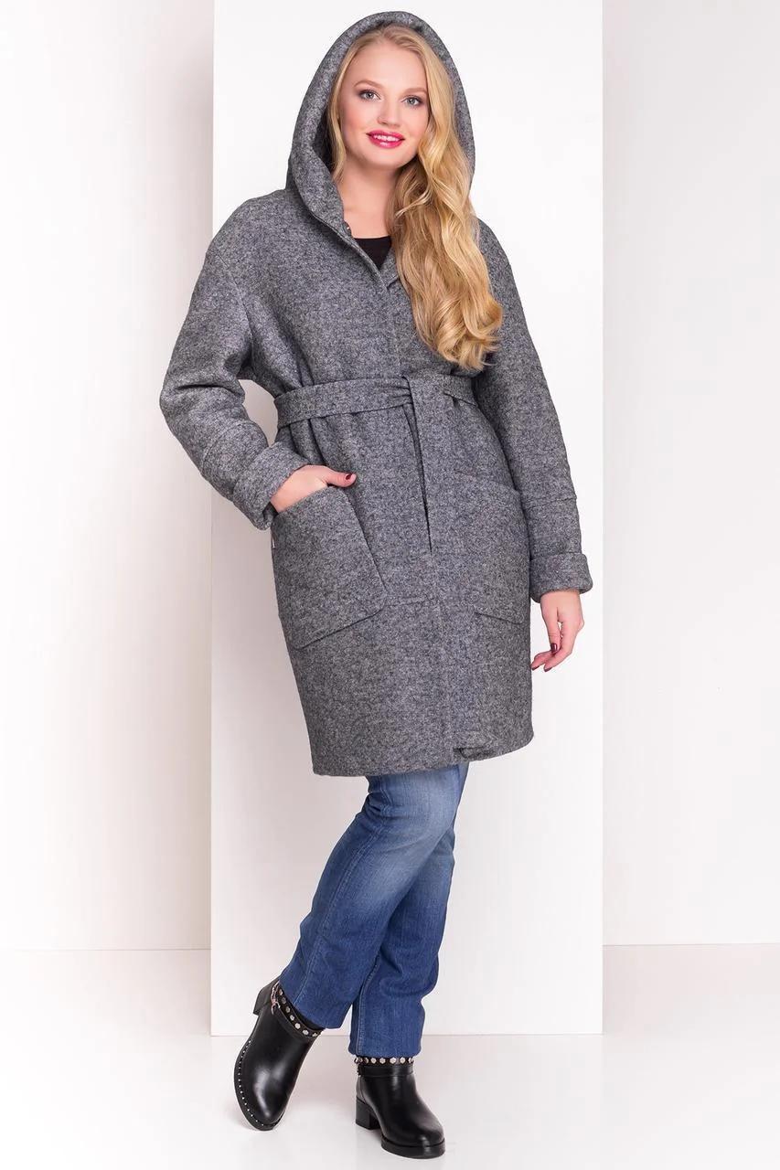 Пальто женское зимнее большой размер  Анита Donna 3720