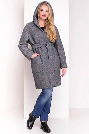 Пальто женское зимнее большой размер  Анита Donna 3720, фото 2