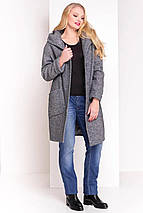 Пальто женское зимнее большой размер  Анита Donna 3720, фото 3
