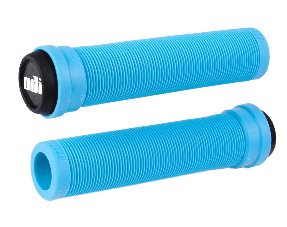 Грипсы ODI Soft Longneck BMX 135 mm Single Ply Aqua (голубые)