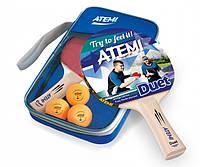 Набір настільного тенісу Atemi Duet (2р+3м+чохол)