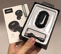 Наушники беспроводные вакуумные с зарядным кейсом Bluetooth 5.0 BOSE TWS 5, фото 2