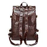 Рюкзак шкіряний Vintage 14843 Коричневий, фото 2