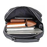 Рюкзак Vintage 14955 кожаный Черный, фото 9