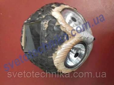 Газонный каменный светильник  Сова