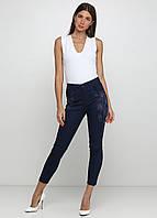 Темно-синие демисезонные скинни джинсы MRS