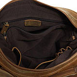 Сумка мужская Vintage 14082 из винтажной кожи Коричневая, фото 6