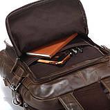 Сумка рюкзак кожаная 14150, фото 5