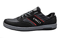 Кросівки чорні чоловічі демісезонні (42 розмір)