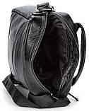 Елітна шкіряна чоловіча сумка SHVIGEL 00791 Чорна, фото 7