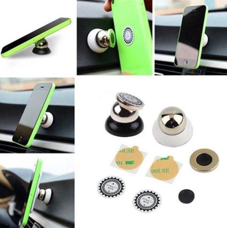Автомобильный магнитный держатель для мобильного телефона 2 вида
