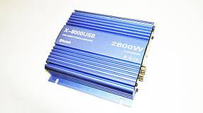 Підсилювач X-8000USB - Bluetooth, USB,FM,MP3! 2800W 4х канальний