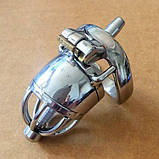Stainless Steel Male Chastity Device / Stainless Steel Chastity Cage, фото 2