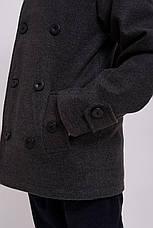 Детское пальто демисезонное кашемировое для мальчика Алекс| на рост 128, 134, 140, 146, 152, фото 2