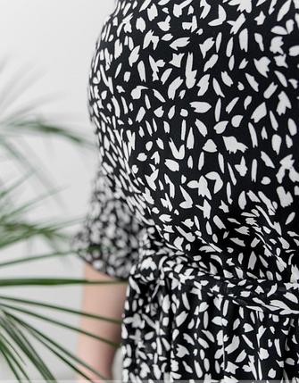 Красивое шифоновое платье батал  Размеры: 48,50,52,54, фото 2