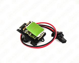 Резистор регулятора скорости вращения вентилятора +AC на Renault Trafic II 2001->2014 — Thermotec - DER007TT