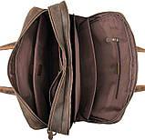 Сумка для ноутбука Vintage 14522 кожаная Коричневая, фото 9