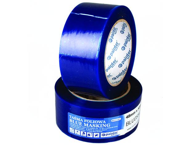 Стрічка малярна блакитна BLU0582 PAINTER 48мм*50м   /24шт/, фото 2