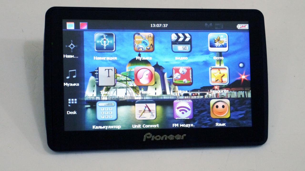 """7"""" GPS навигатор Pioneer 719 - 8gb 800mhz 256mb IGO+Navitel+CityGuide"""