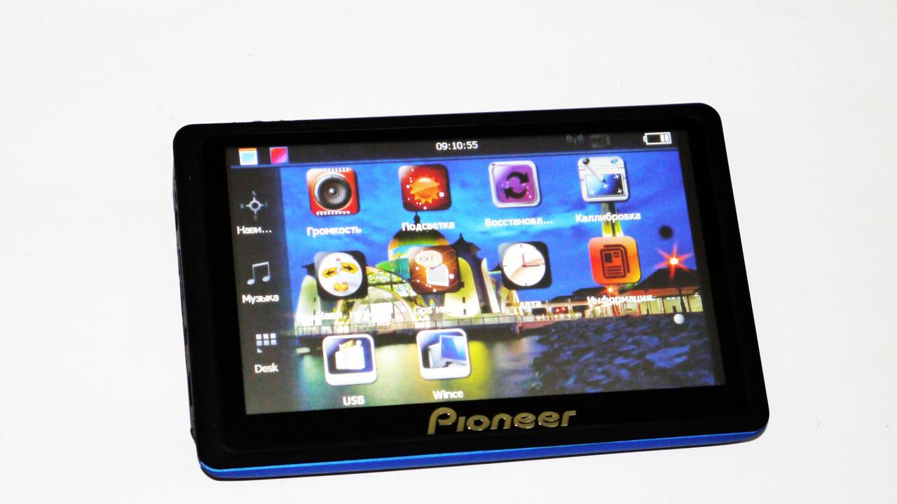 """5"""" GPS навигатор Pioneer 518 - 8gb 800mhz 256mb IGO+Navitel+CityGuide"""