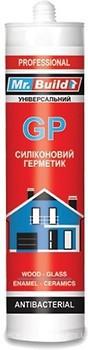 Будівельний Герметик в тубі PU-90  MR. BUILD сірий 600 мл